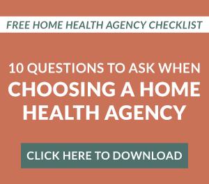 download home health agency checklist