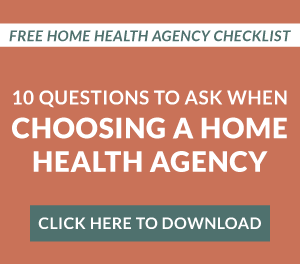 download home health agency checklist